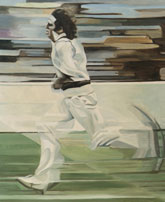 cricket paintings by Rosemary taylor